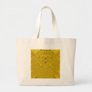 Golden Lion head Jumbo Tote Bag