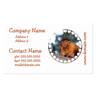 Golden Lion Tamarin Business Cards