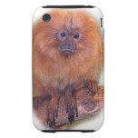 Golden Lion Tamarin, Golden Marmoset Monkey Brazil iPhone 3 Tough Cases