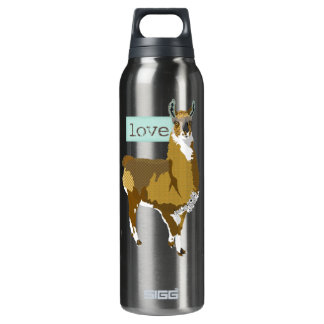 Golden Llama Love Liberty Bottle
