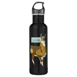 Golden Llama Love Liberty Bottle 24oz Water Bottle
