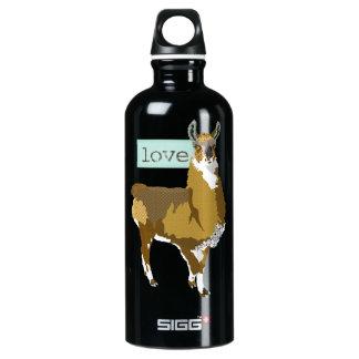 Golden Llama Love Liberty Bottle SIGG Traveller 0.6L Water Bottle