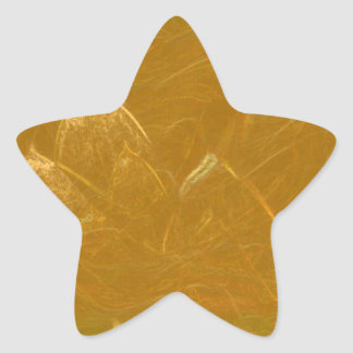 GOLDEN LOTUS BLANK TEMPLATE ARTISTIC LABEL DECO GI STAR STICKER
