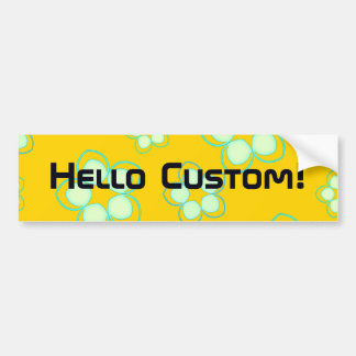 Golden Lotus Manga Fusion Bumper Sticker