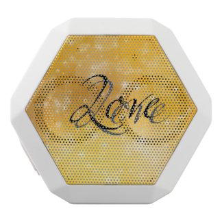 Golden Love White Boombot Rex Bluetooth Speaker
