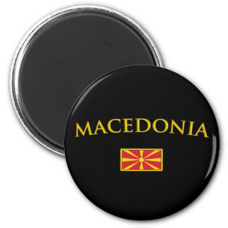 Golden Macedonia Magnet