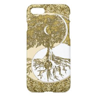 Golden Mandala Yin Yang iPhone 7 Case