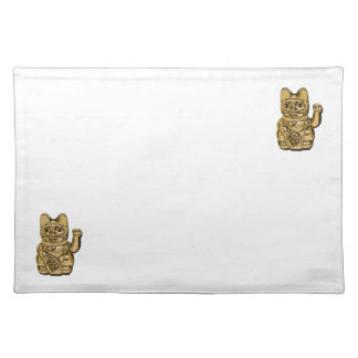Golden Maneki Neko Placemat