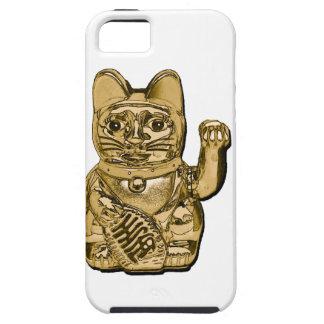 Golden Maneki Neko Tough iPhone 5 Case