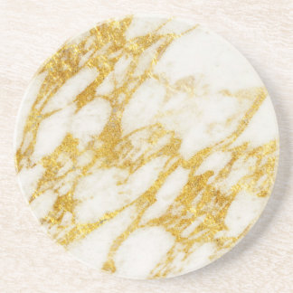 Gold And Marble Drink Amp Beverage Coasters Zazzle Co Uk