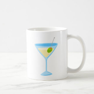Golden Martini Basic White Mug