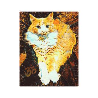 "Golden Master 11"" x 14"" Canvas Print"