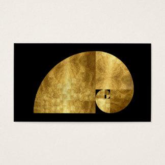 Golden Mean, Gold Leaf Image