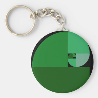 Golden Mean Key Ring