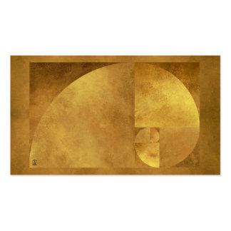 Golden Mean Pack Of Standard Business Cards