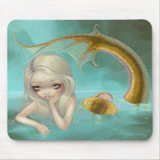 """Golden Mermaid"" Mousepad"