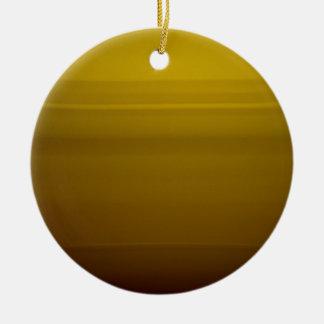 Golden moment round ceramic decoration