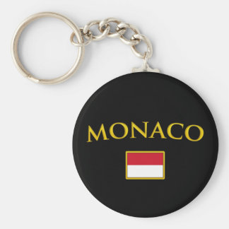 Golden Monaco Key Ring