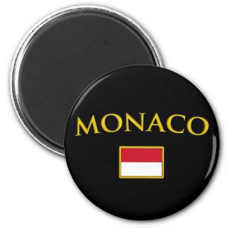 Golden Monaco Magnet