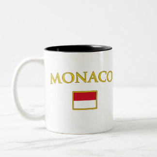 Golden Monaco Two-Tone Coffee Mug