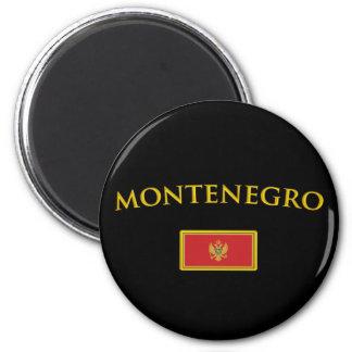 Golden Montenegro Magnet