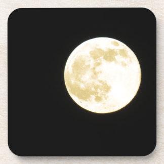 Golden moon coaster