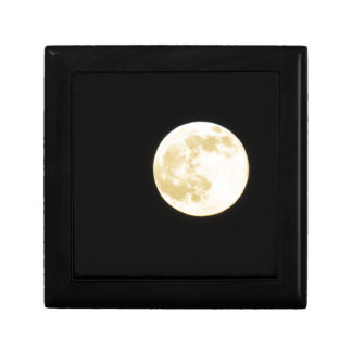 Golden moon gift box