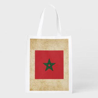 Golden Morocco Flag