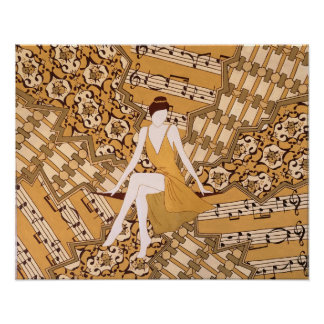 Golden Muse Print