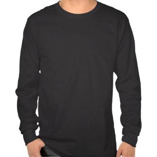 Golden N for Nazarine - on Black Tee Shirts