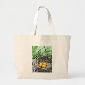Golden Nest Eggs Canvas Bags