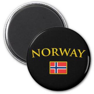 Golden Norway Magnet