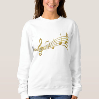golden  notes sweatshirt