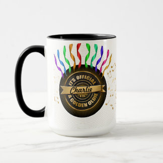 "Golden Oldie ""Cup of Joe"" Mug"