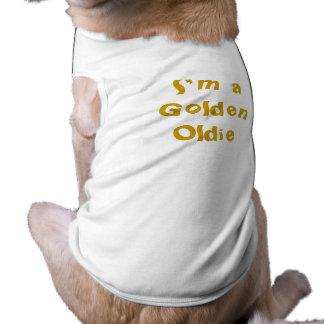 Golden Oldie Sleeveless Dog Shirt