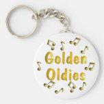 Golden Oldies Key Chains