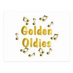 Golden Oldies Postcard