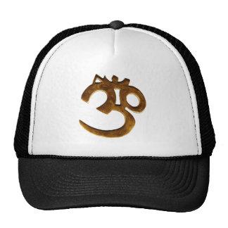 Golden Om Cap