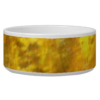 Golden Opals Dog Bowl