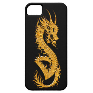 Golden oriental dragon 02 barely there iPhone 5 case