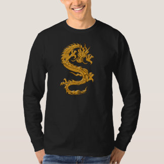 Golden oriental dragon 04 T-Shirt
