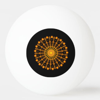 Golden Palatial One Star Ping Pong Ball
