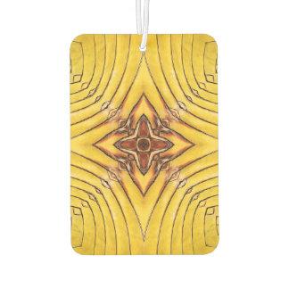 Golden Palm Frond Mandala