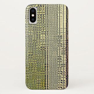 Golden Panes iPhone X Case