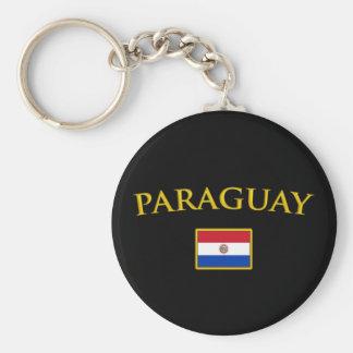 Golden Paraguay Key Ring