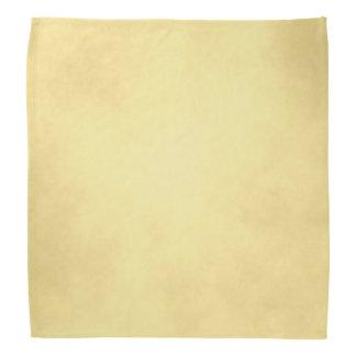 Golden Parchment Bandana
