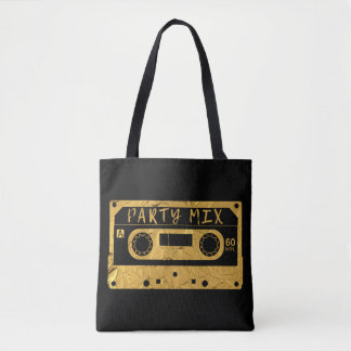 Golden Party Mix Tote Bag
