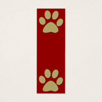 golden paw mini business card