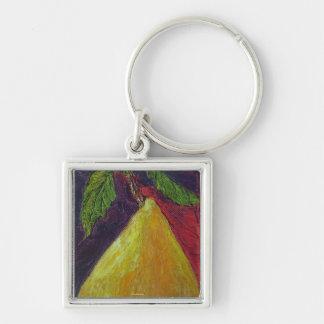 Golden Pear Key Chain