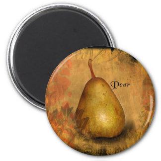 Golden Pear Magnet